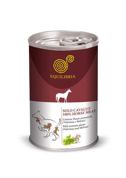 Консерва EQUILIBRIA за кучета с конско месо
